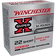 WIN BLANKS .22 SHORT 50-PACK SMOKE & NOISE BLANKS