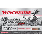 WIN AMMO DEER XP .25-06 REM. 117GR EXTREME POINT POLY 20-PK