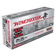 WIN AMMO SUPER-X .25-35 WIN. 117GR. POWER POINT 20-PACK