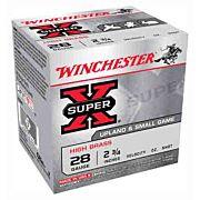 "WIN AMMO SUPER-X 28GA. 2.75"" 1205FPS. 1OZ. #5 25-PACK"