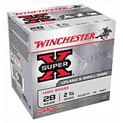 "WIN AMMO SUPER-X 28GA. 2.75"" 1205FPS. 1OZ. #7.5 25-PACK"