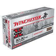 WIN AMMO SUPER-X .30-30 WIN. 150GR. POWER POINT 20-PACK