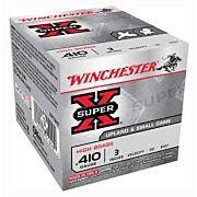"WIN AMMO SUPER-X .410 3"" 1100FPS. 3/4OZ. #4 25-PACK"