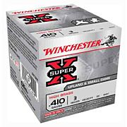 "WIN AMMO SUPER-X .410 3"" 1100FPS. 3/4OZ. #8.5 25-PACK"