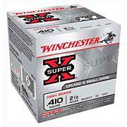 "WIN AMMO SUPER-X .410 2.5"" 1245FPS. 1/2OZ. #4 25-PACK"