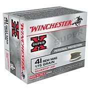 WIN AMMO SUPER-X .41 REM MAG 175GR. SILVERTIP HP 20-PACK