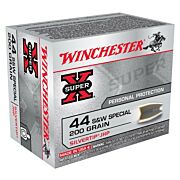 WIN AMMO SUPER-X .44SW SPECIAL 200GR. SILVERTIP HP 20-PACK