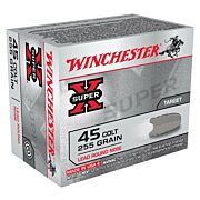 WIN AMMO SUPER-X .45 LONG COLT 255GR. LEAD-RN 20-PACK