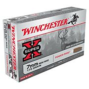 WIN AMMO SUPER-X 7MM RM 175GR. POWER POINT 20-PACK