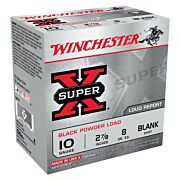 "WIN BLANKS 10GA. 2-7/8"" BLACK POWDER 25-PACK"