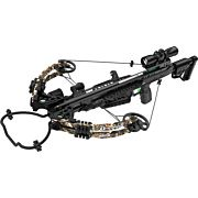 CENTERPOINT XBOW KIT DAGGER 390 4X32 ADJUSTABLE STK CAMO