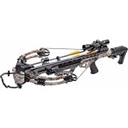 CENTERPOINT CROSSBOW KIT HEAT 415FPS ROPE COCKER CAMO