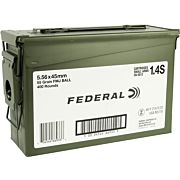 FED AMMO AE TACTICAL 5.56X45 55GR. FMJ-BT 400RD AMMO CAN