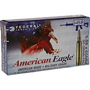 FED AMMO AE TACTICAL 5.56X45 XM193 55GR. FMJ-BT 20-PACK