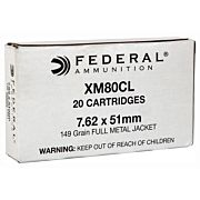 FED AMMO AE TACTICAL 7.62X51 149GR. FMJ-BT 20-PACK