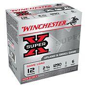 "WIN AMMO SUPER-X 12GA. 2.75"" 1290FPS. 1OZ. #6 25-PACK"