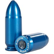 A-ZOOM METAL SNAP CAP BLUE 9MM LUGER 10-PACK