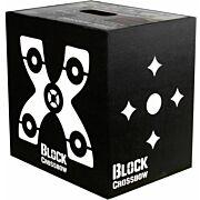 BLOCK TARGETS BLACK XBOW 16X16X12 4-SIDE BROADHEAD