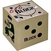 BLOCK TARGETS 6X6 18X16X18 6-SIDED BROADHEAD RATED
