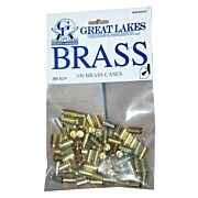 GREAT LAKES BRASS .380ACP NEW 100CT