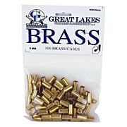 GREAT LAKES BRASS 9MM LUGER NEW 100CT