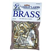 GREAT LAKES BRASS .45ACP NEW 100CT