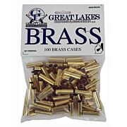 GREAT LAKES BRASS .327 FEDERAL MAGNUM NEW 100CT