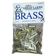 GREAT LAKES BRASS .38 SPECIAL NEW 100CT