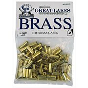GREAT LAKES BRASS .32 S&W LONG NEW 100CT