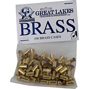 GREAT LAKES BRASS 9X18MM MAKAROV NEW 100CT