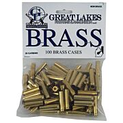 GREAT LAKES BRASS .30 CARBINE NEW 100CT