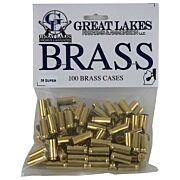 GREAT LAKES BRASS .38 SUPER NEW 100CT