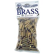 GREAT LAKES BRASS .223 REM. ONCE FIRED 250CT
