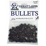GREAT LAKES BULLETS .32 CAL. .313 100GR LEAD-SWC POLY 100CT