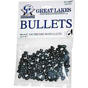 GREAT LAKES BULLETS .380ACP .356 95GR LEAD-RN POLY 100CT