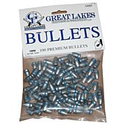GREAT LAKES BULLETS 9MM .356 147GR. LEAD-TCFP 100CT