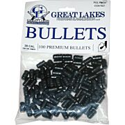 GREAT LAKES BULLETS .38/.357 .358 158GR LEAD-RNFP POLY 100
