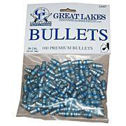 GREAT LAKES BULLETS .38/.357 .358 158GR. LEAD-SWC 100CT