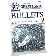 GREAT LAKES BULLETS .40/10MM .401 170GR. LEAD-SWC 100CT