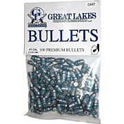 GREAT LAKES BULLETS .41 CAL. .411 215GR. LEAD-SWC 100CT