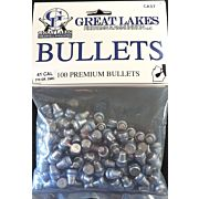 GREAT LAKES BULLETS .41 CAL. .411 215GR LEAD-SWC POLY 100CT