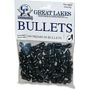 GREAT LAKES BULLETS .44-40 .427 200GR LEAD-RNFP POLY 100