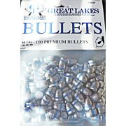GREAT LAKES BULLETS .44 CAL. .430 240GR. LEAD-RN 100CT