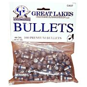 GREAT LAKES BULLETS .44 CAL. .430 240GR. LEAD-SWC 100CT
