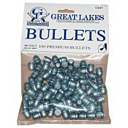 GREAT LAKES BULLETS .45LC .452 200GR. LEAD-RNFP 100CT