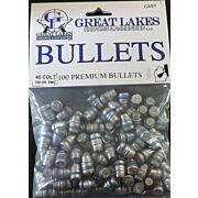 GREAT LAKES BULLETS .45LC .452 255GR. LEAD-SWC 100CT