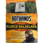 HOTHANDS HEATED BALACLAVA MOSSY OAK BU W/FREE PCK WARMRS
