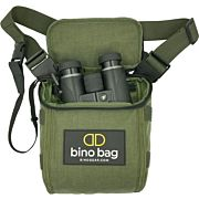 BINO DOCK BINO BAG GREEN INCLUDES 3 STRAPS & SAFETY CRD