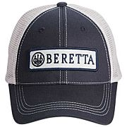 BERETTA CAP TRUCKER W/PATCH COTTON MESH BACK NAVY BLUE