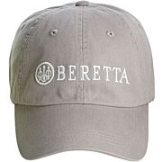 BERETTA CAP BERETTA LOGO COTTON TWILL NAVY GREY